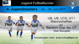 8. Jugendmasters 2017 - Ergebnisse