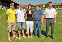 15.8.2012 - NV übernimmt Patronanz, Ins Klane die Ballspende